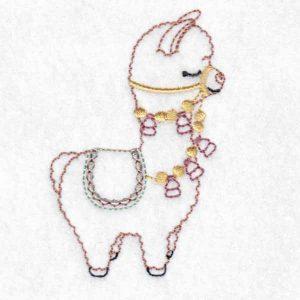 Llama Machine Embroidery Designs