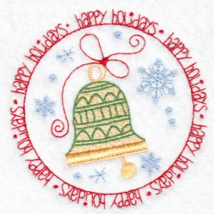 Christmas machine embroidery design