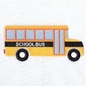 School Bus Machine embroidery designs