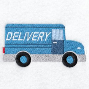 Delivery Truck Machine embroidery designs