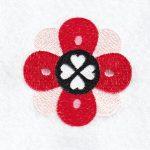 Heart Valentine machine embroidery design