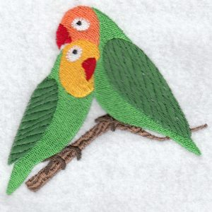 lovebird machine embroidery designs