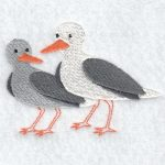 machine embroidery designs seagull