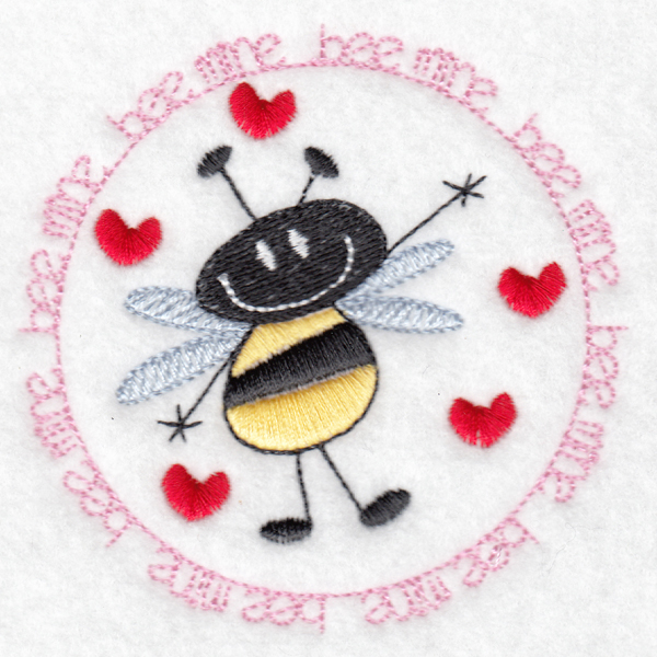 Hennessy Embroidery Bee Mine