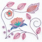 Hennessy Embroidery Jacobean