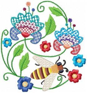 Jacobean Bees
