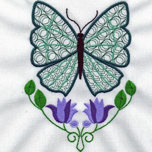 Mylar Butterfly